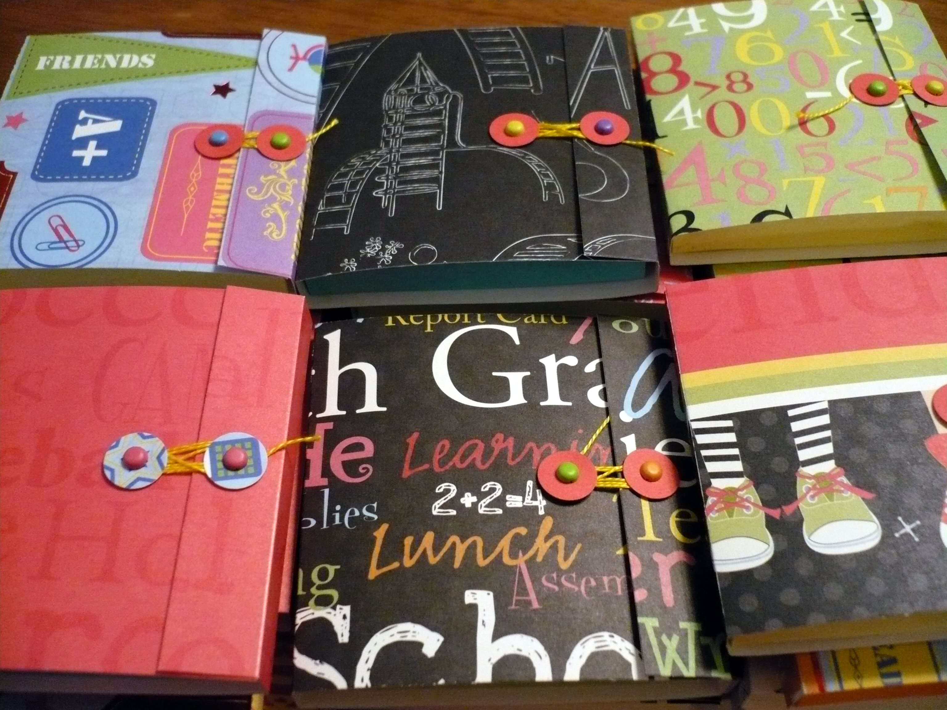 stacks of stickybooks