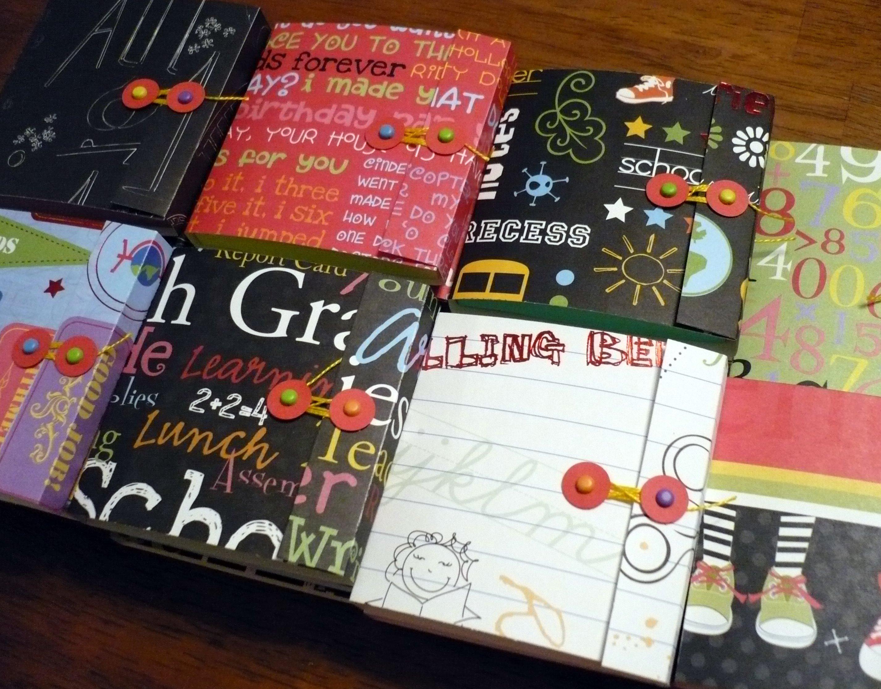 sticky notebooks