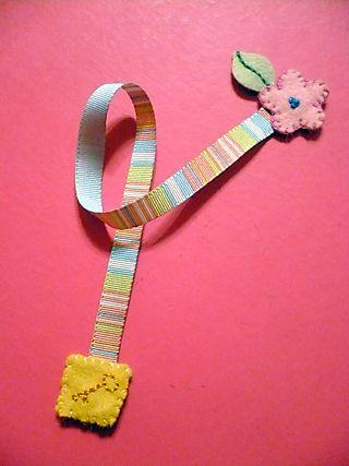 secret garden bookmark