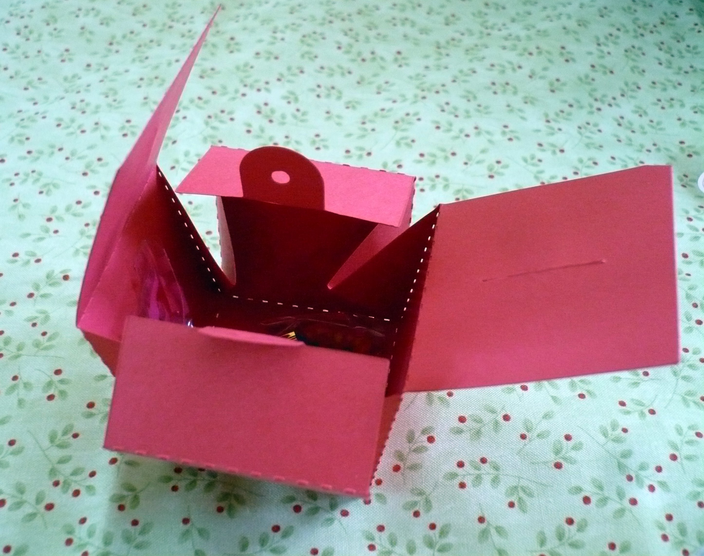 opening boxes