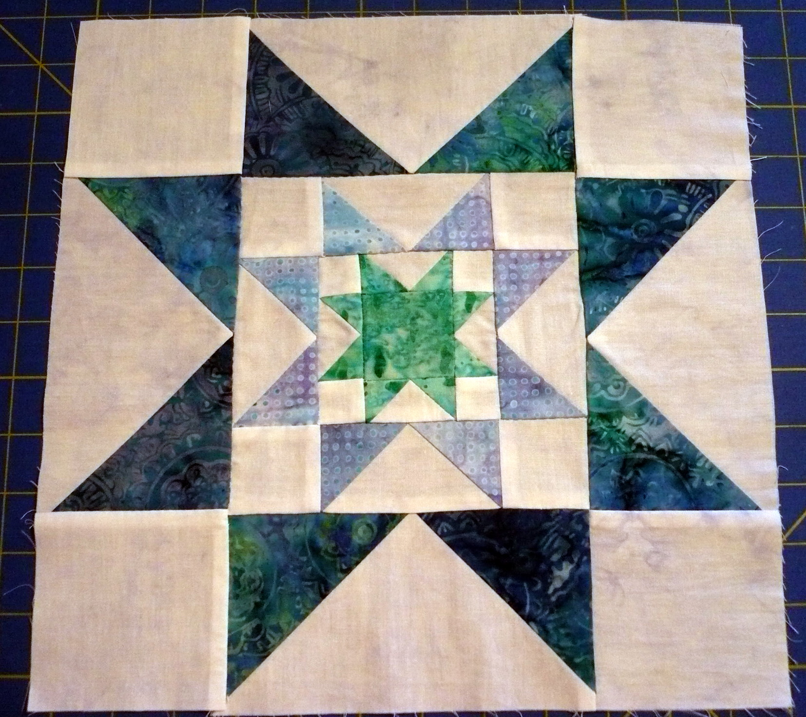 Block 8 batik