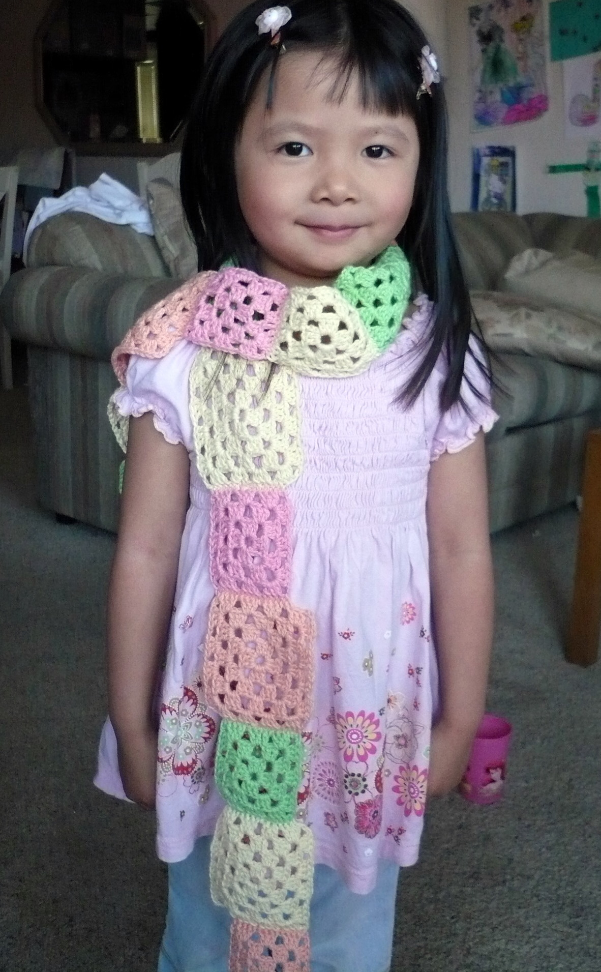 baby granny scarf