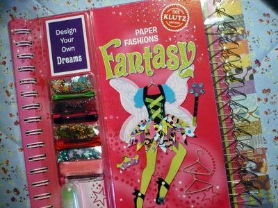Klutz Paper Fashions Fantasy