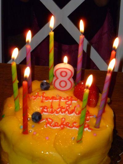 eighth cake