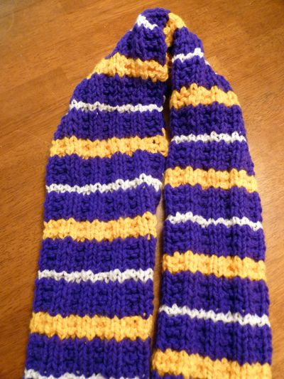 not Lakers scarf