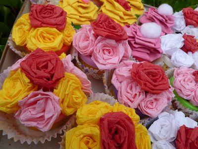 Play-Doh cupcakes