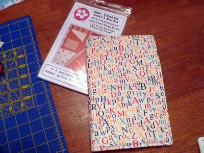 quilted notebook