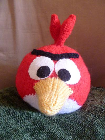 angry knitting