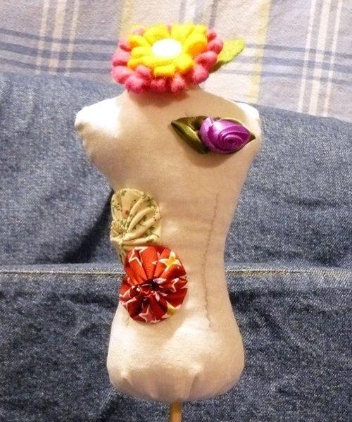 dress form pincushion