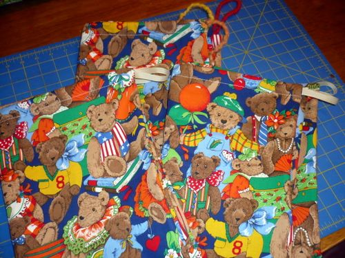 bear party bags
